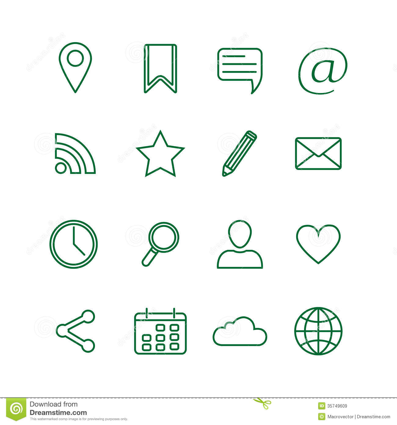 Generic social media clipart graphic freeuse stock Generic social media clipart - ClipartFest graphic freeuse stock