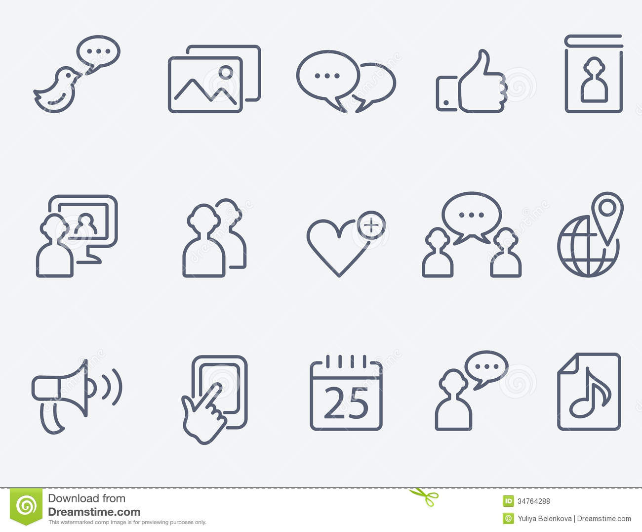 Generic social media clipart jpg black and white Generic social media clipart - ClipartFest jpg black and white