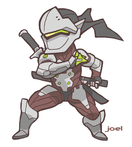 Genji overwatch clipart picture free library joelcarroll.com » Blog Archive » Genji, from Overwatch picture free library