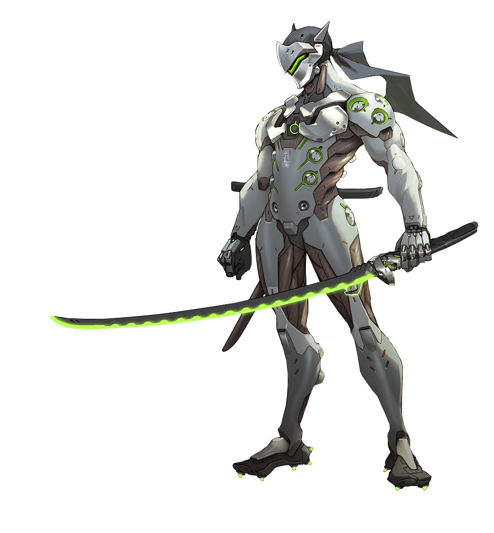 Genji overwatch clipart clip free McCree Overwatch transparent PNG - StickPNG clip free