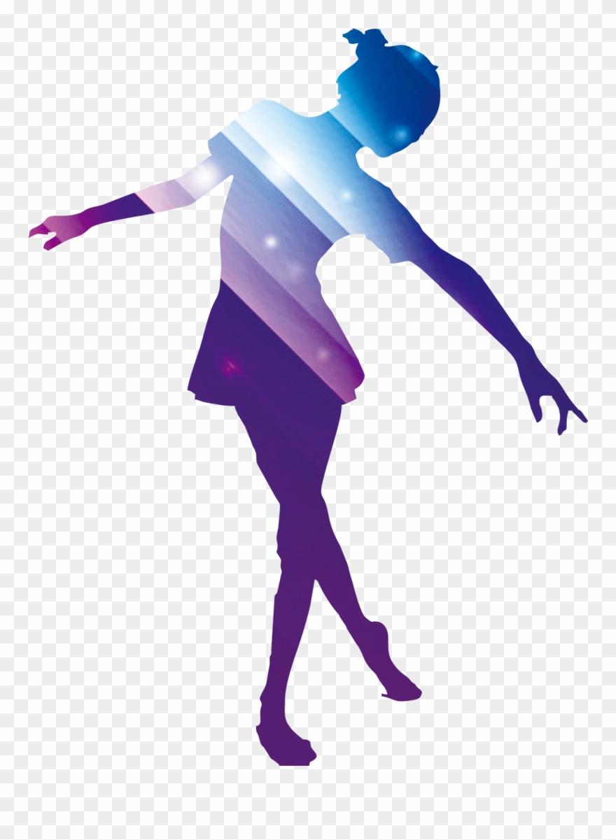 Gente bailando clipart banner royalty free download Poster Colored Of People Dancing - Siluetas De Personas Bailando ... banner royalty free download