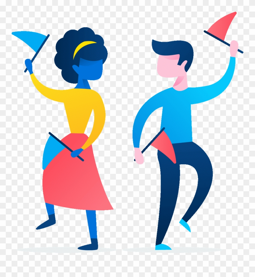 Gente bailando clipart vector freeuse library Whether It Takes The Form Of A Bustling Startup, A - Personas ... vector freeuse library