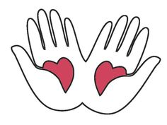 Gentle hands clipart clipart free library Pinterest clipart free library