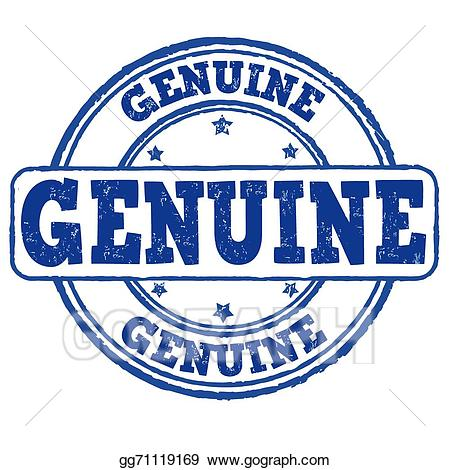 Genuine clipart graphic transparent download Vector Stock - Genuine stamp. Clipart Illustration gg71119169 - GoGraph graphic transparent download