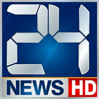 Geo news logo clipart clip art royalty free stock 24 News HD - Wikipedia clip art royalty free stock