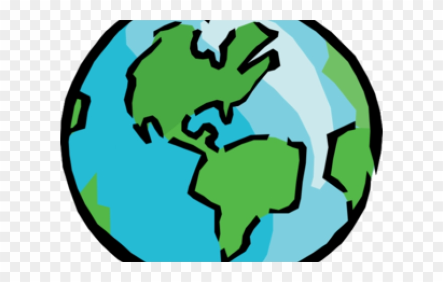 Geography images clipart svg black and white Geography Clipart Real World - Earth Clip Art - Png Download ... svg black and white