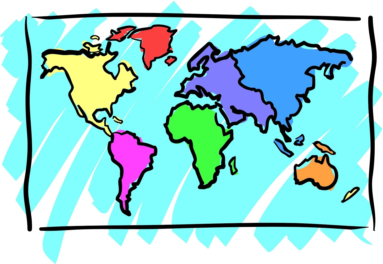 Geography images clipart clipart Geography clipart 7 » Clipart Station clipart