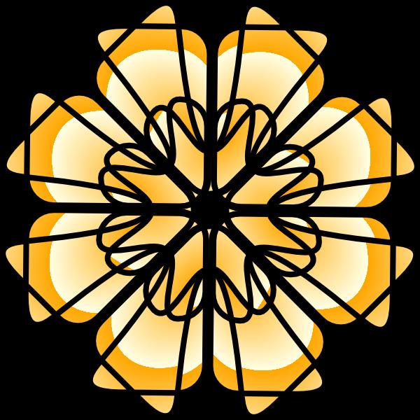 Geometric flower clipart clip art freeuse download Geometric Art Clip Art at Clker.com - vector clip art online ... clip art freeuse download