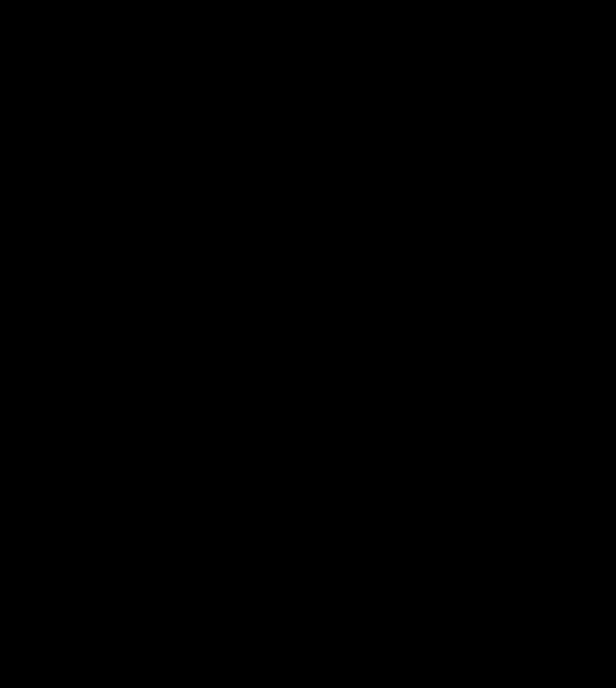 Microsoft office clipart snowflake black clip art black and white stock Clipart - Snowflake Fractal clip art black and white stock
