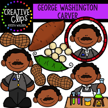 George washington carver clipart banner freeuse library George Washington Carver Clipart {Creative Clips Clipart} banner freeuse library
