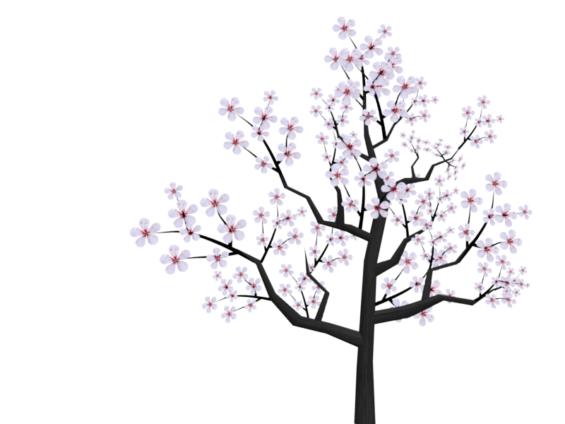George washington cherry tree clipart vector Cherry Tree cute flower tree clipart vector