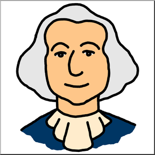 President washington clipart graphic stock Clip Art: Cartoon Faces: George Washington Color I abcteach.com ... graphic stock