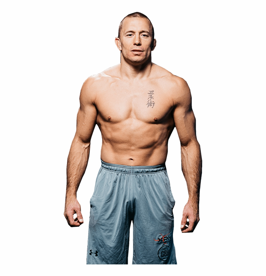 Georges st pierre clipart jpg black and white library Do You Think This Will Happen Gsp Vs Habeeb This Will - George St ... jpg black and white library