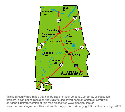 Georgia on us map clipart picture royalty free US State Printable Maps Alabama to Georgia, Royalty Free, clip art ... picture royalty free