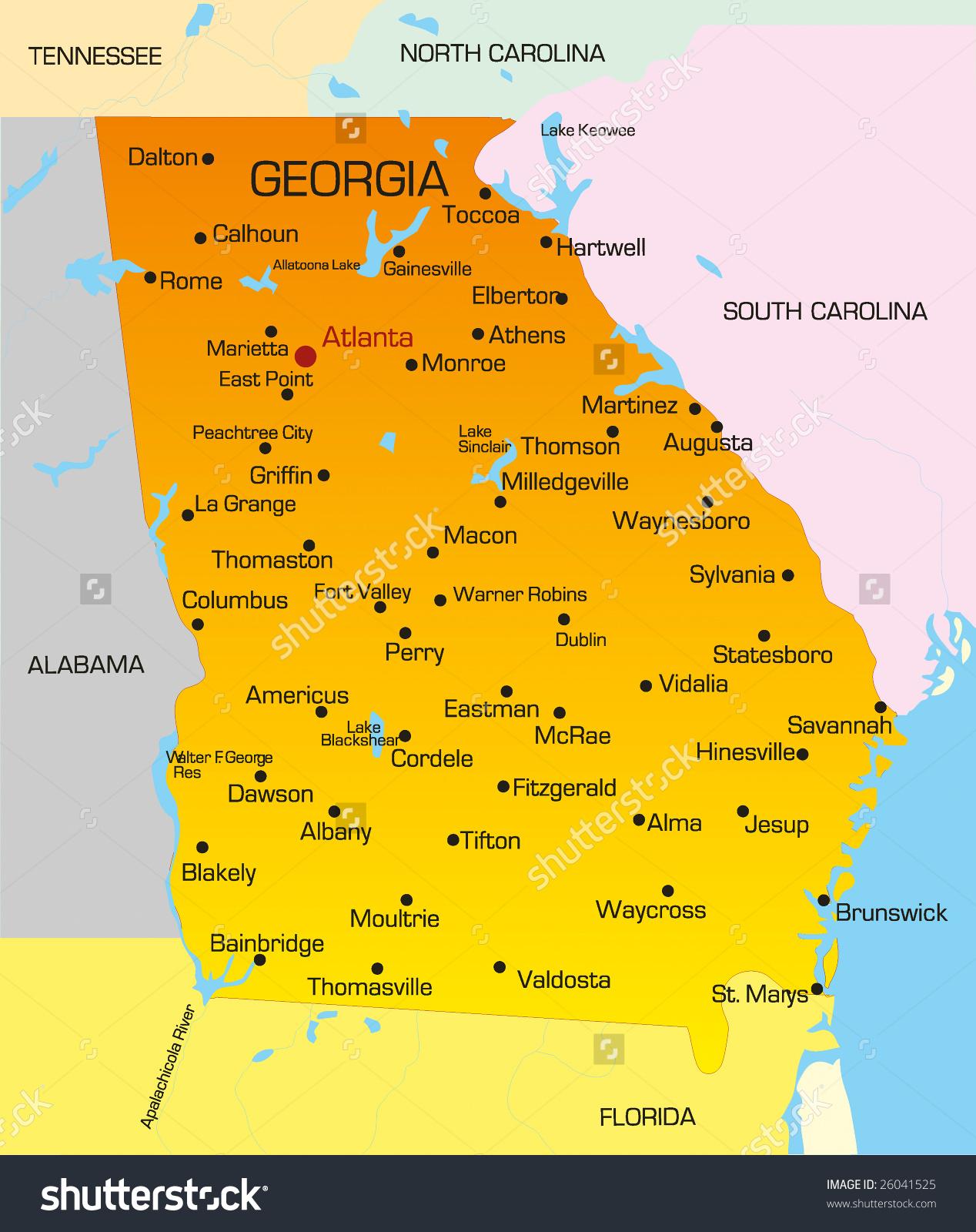 Georgia on us map clipart clip art free stock Georgia on us map clipart - ClipartNinja clip art free stock