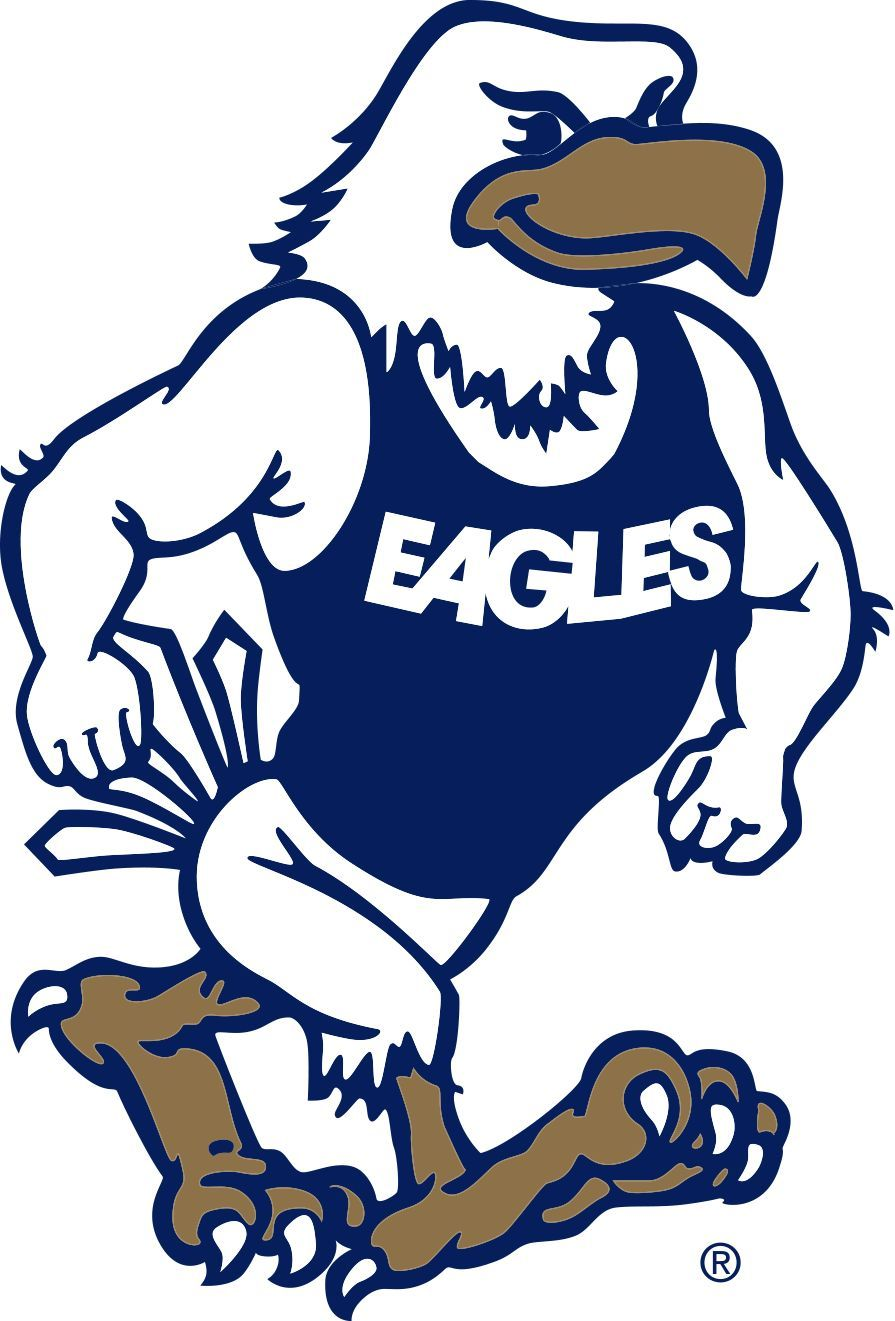 Georgia state university clipart royalty free library Georgia Southern Strutting Eagle Decal | Georgia Southern | Georgia ... royalty free library