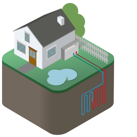 Geothermal heat pump clipart transparent Ground Source Heat Pumps - Groundtherm transparent
