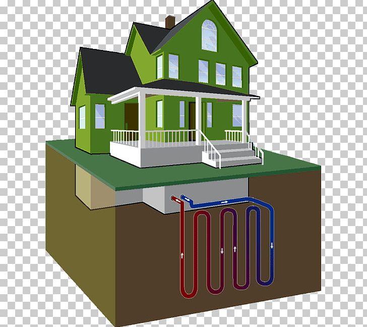 Geothermal heat pump clipart clip download House Geothermal Heat Pump Geothermal Heating Central Heating ... clip download