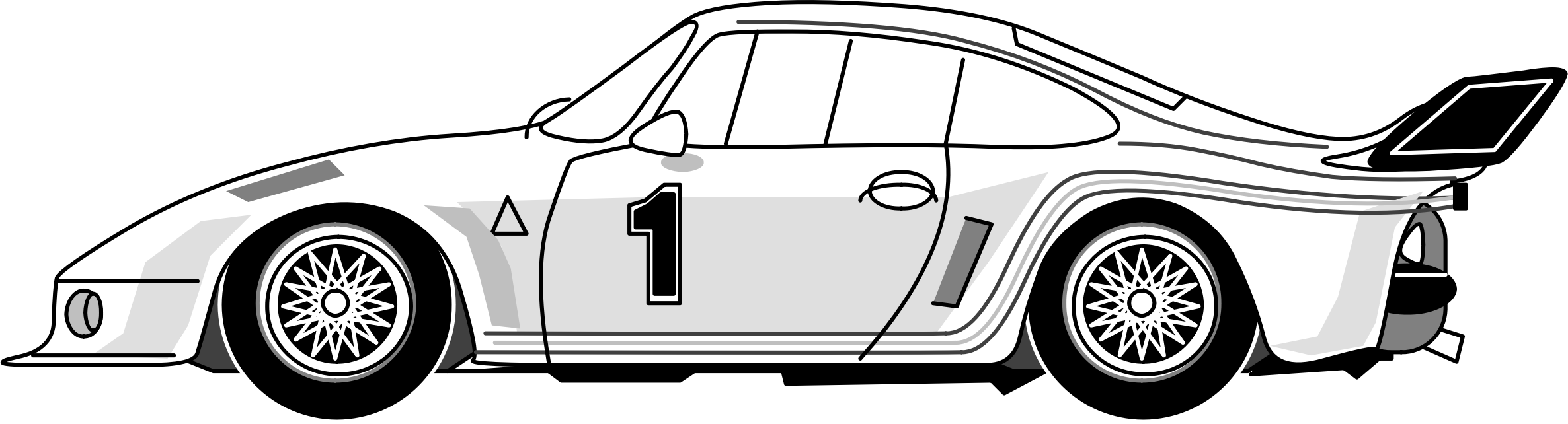 German car clipart svg freeuse Clipart - porsche 911 svg freeuse