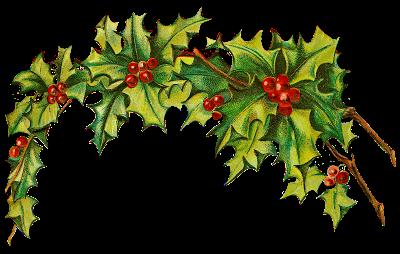 German christmas clipart free clipart free stock CatnipStudioCollage-: Free Vintage Clip Art - Christmas Holly Post ... clipart free stock