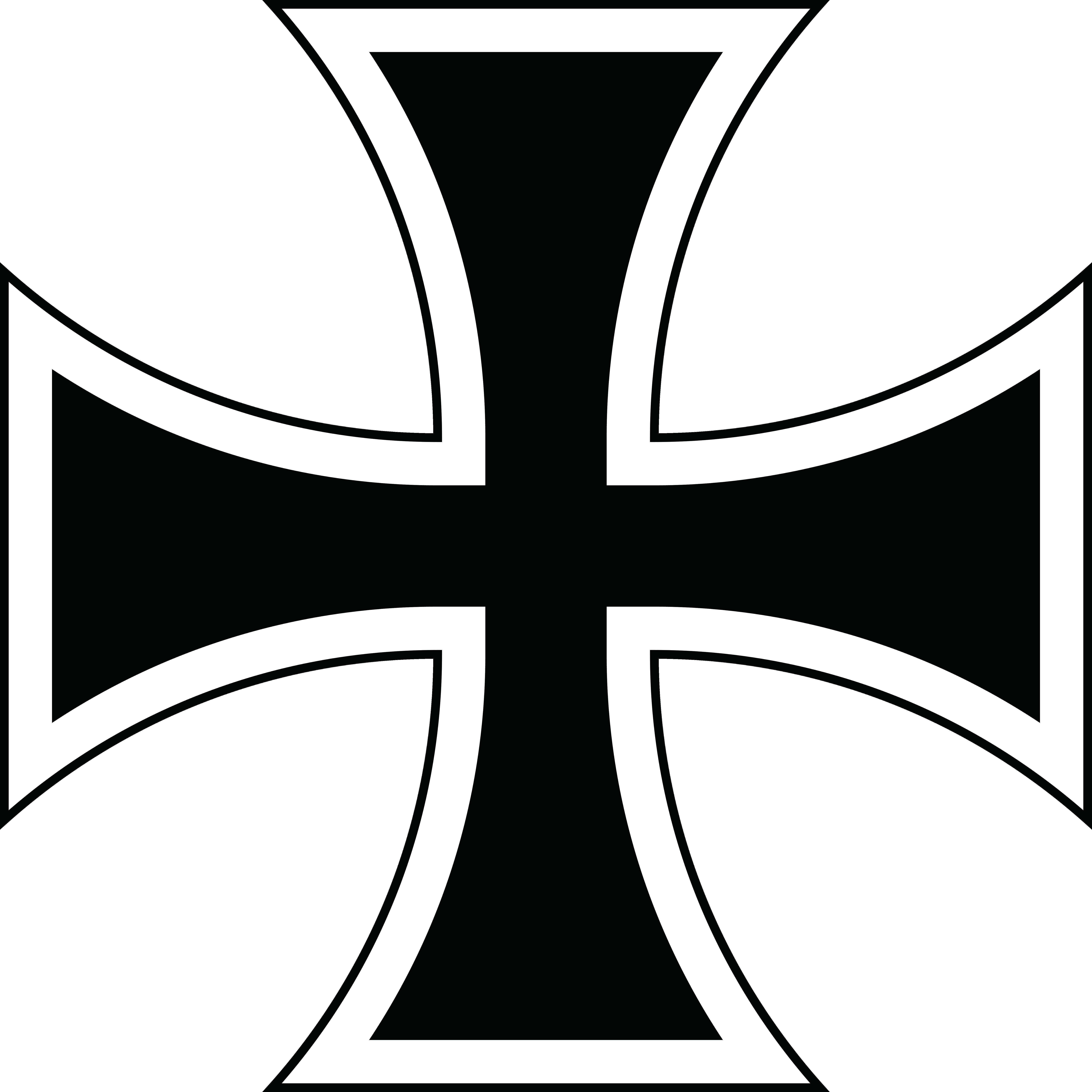German cross clipart vector transparent library Iron Cross Vector Group (75+) vector transparent library