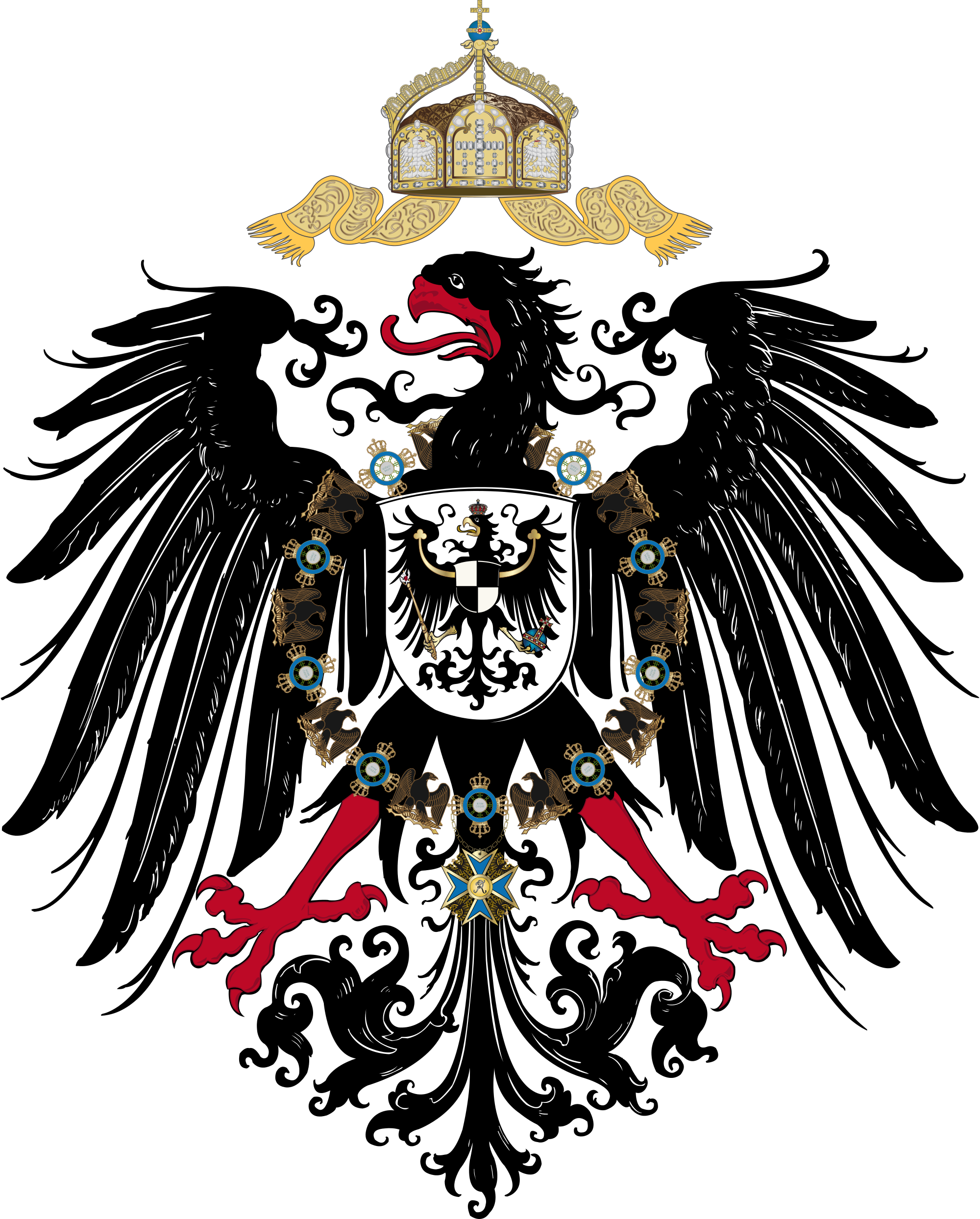 German house clipart clipart freeuse German Empire Coat of Arms (1870 - 1918) | Heraldy | Pinterest ... clipart freeuse