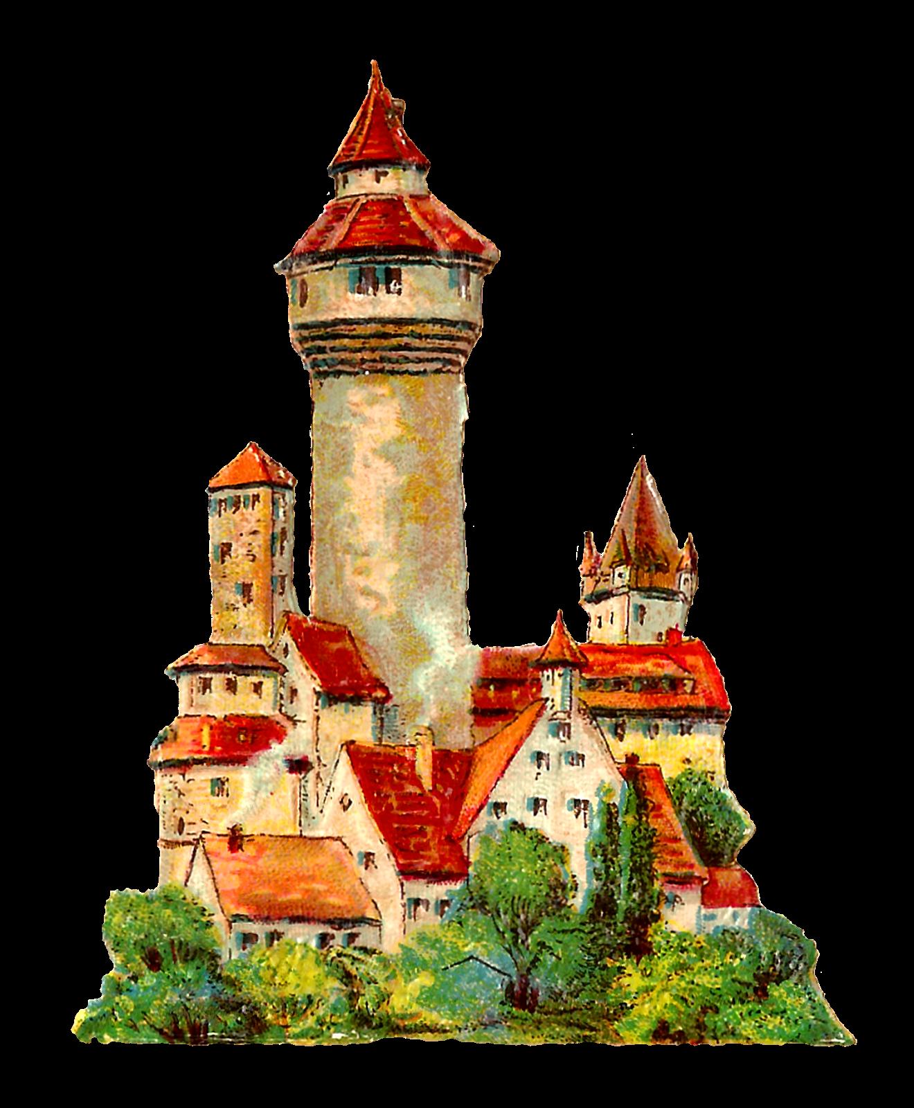 German house clipart clip royalty free download Antique Images: German Vintage Architecture Clip Art Illustrations ... clip royalty free download