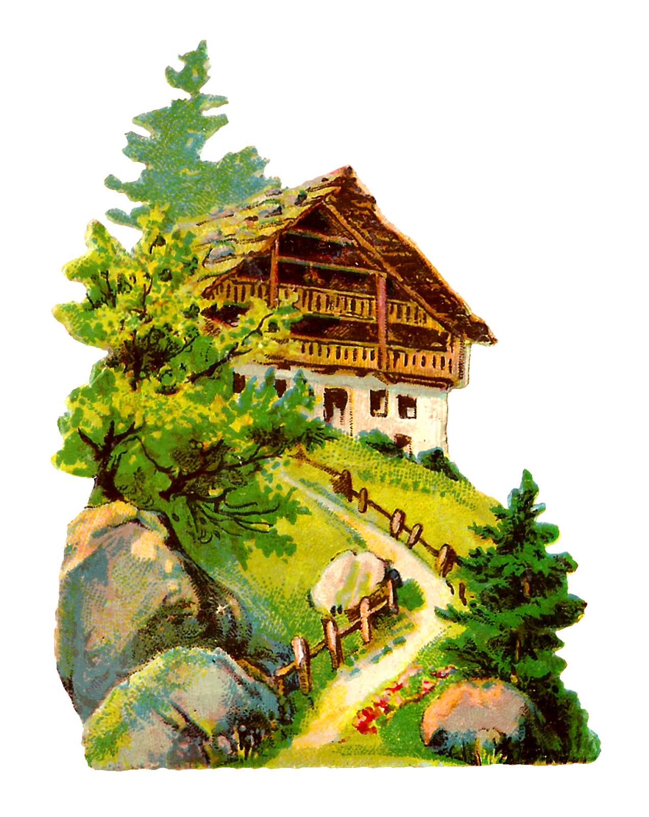 German house clipart picture royalty free stock Antique Images: German Vintage Architecture Clip Art Illustrations ... picture royalty free stock