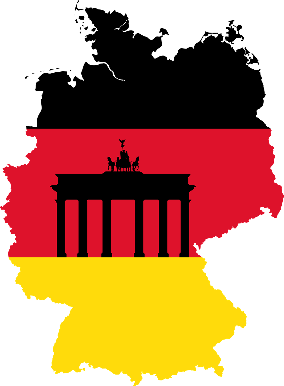 German house clipart banner transparent library Germany, Borders Brandenburg Gate Country Eu Europe #germany ... banner transparent library