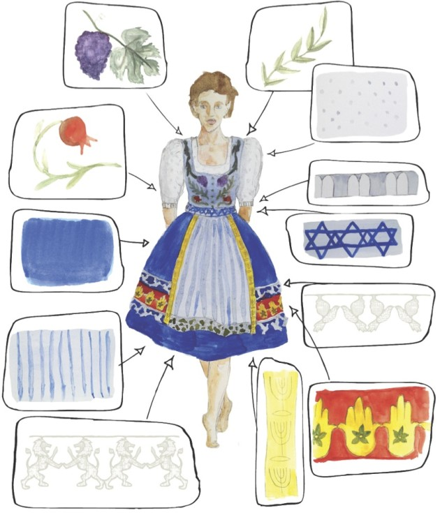 German man wearing traditional german clothing clipart image freeuse Should a Jewish Girl Wear a Dirndl? (And Other Questions About Jews ... image freeuse