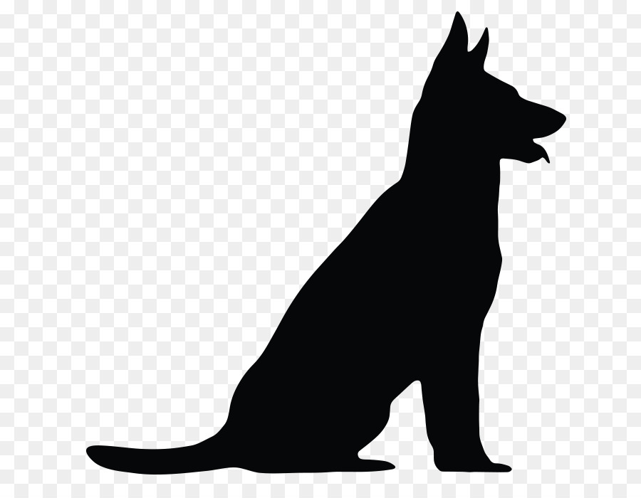 German shepherd clipart graphics svg library library German Shepherd Vector graphics Clip art Silhouette Royalty-free ... svg library library