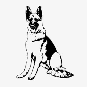 German shepherd silhouette black and white clipart graphic black and white download German Shepherd Face Drawing | Free download best German Shepherd ... graphic black and white download