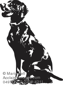 German shorthaired pointer clipart image library download German Pointer Dog Silhouette Clipart Image - Acclaim Stock ... image library download