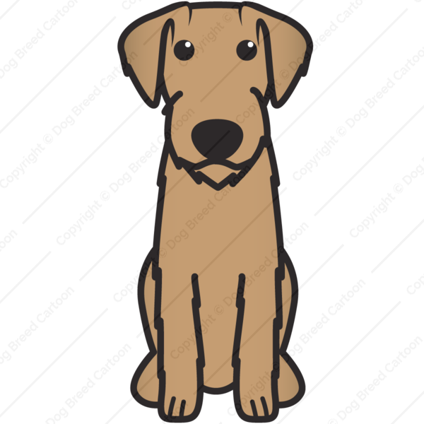 German wirehaired pointer clipart clip art black and white German Wirehaired Pointer clip art black and white