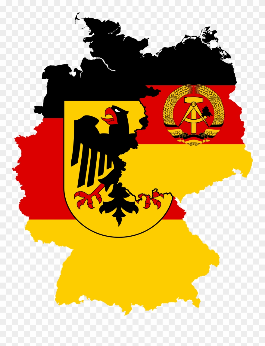 Germany logo clipart jpg free library Episode 20 The Two Germanys 1945 - West Germany And East Germany ... jpg free library