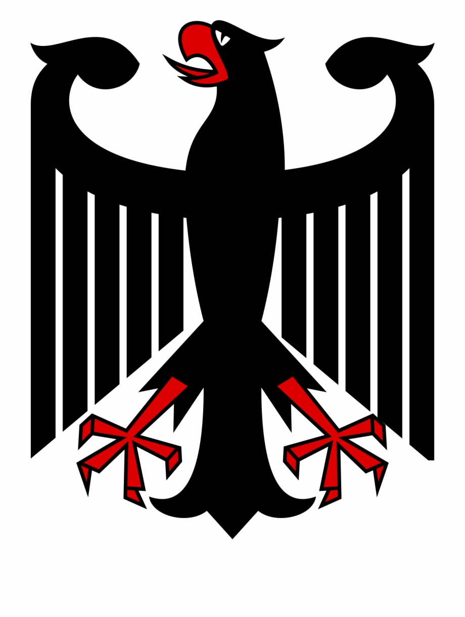 Germany logo clipart image black and white stock Eagle Clipart Logo - Germany Coat Of Arms Free PNG Images & Clipart ... image black and white stock