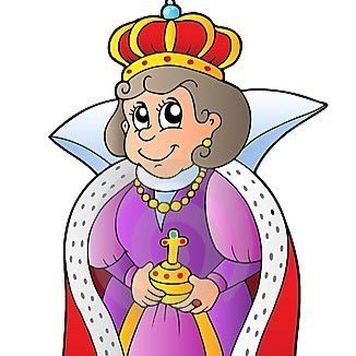 Gertrude clipart jpg black and white Queen Gertrude (@q_gertrudekj)   Twitter jpg black and white