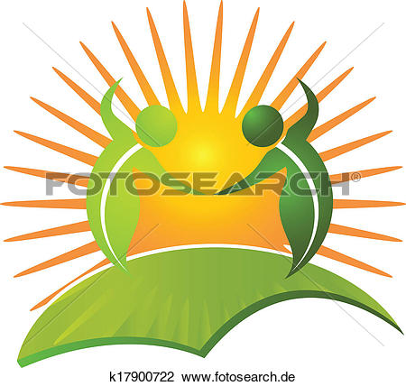 Gesund leben clipart jpg transparent download Clipart - vektor, von, gesund, leben, natur, logo k17900722 ... jpg transparent download