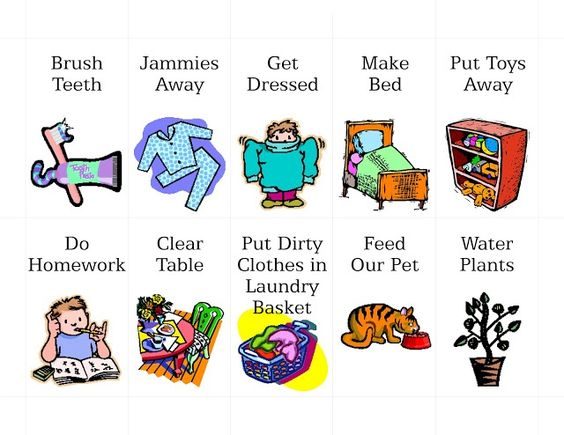 Gesund und fit clipart png free chore chart clip art | Odds & Ends | Pinterest | Design, Clipart ... png free