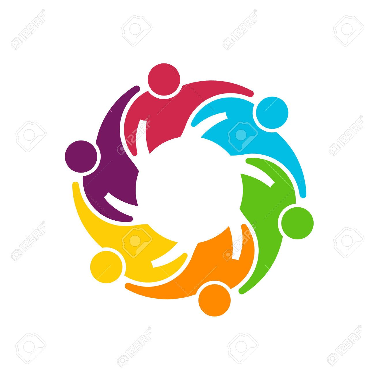Get together logo clipart vector free hands together: Teamwork Gear | diseño de líneas | People hugging ... vector free