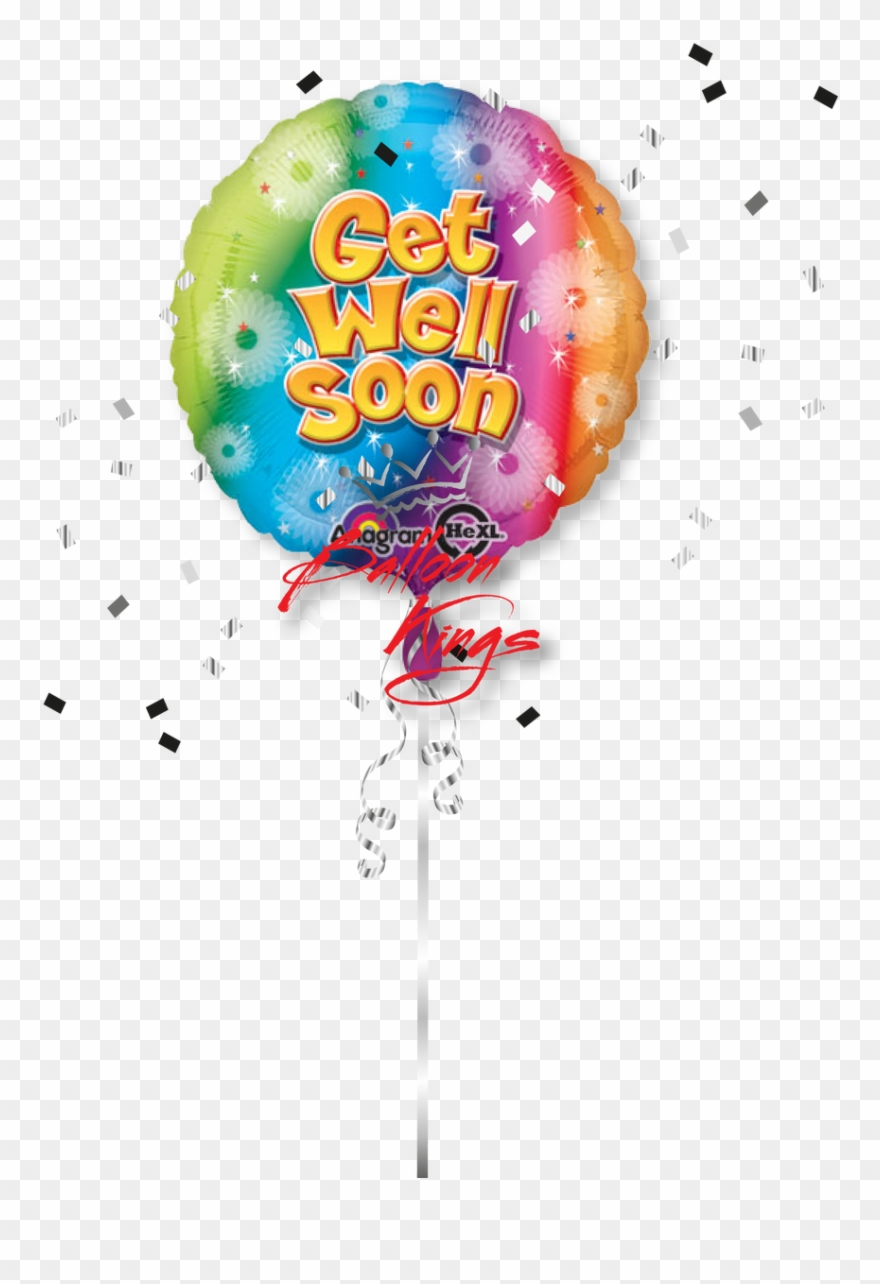 Get well balloons clipart jpg free stock Get Well Soon Shooting Color - Get Well Soon Balloon Transparent ... jpg free stock