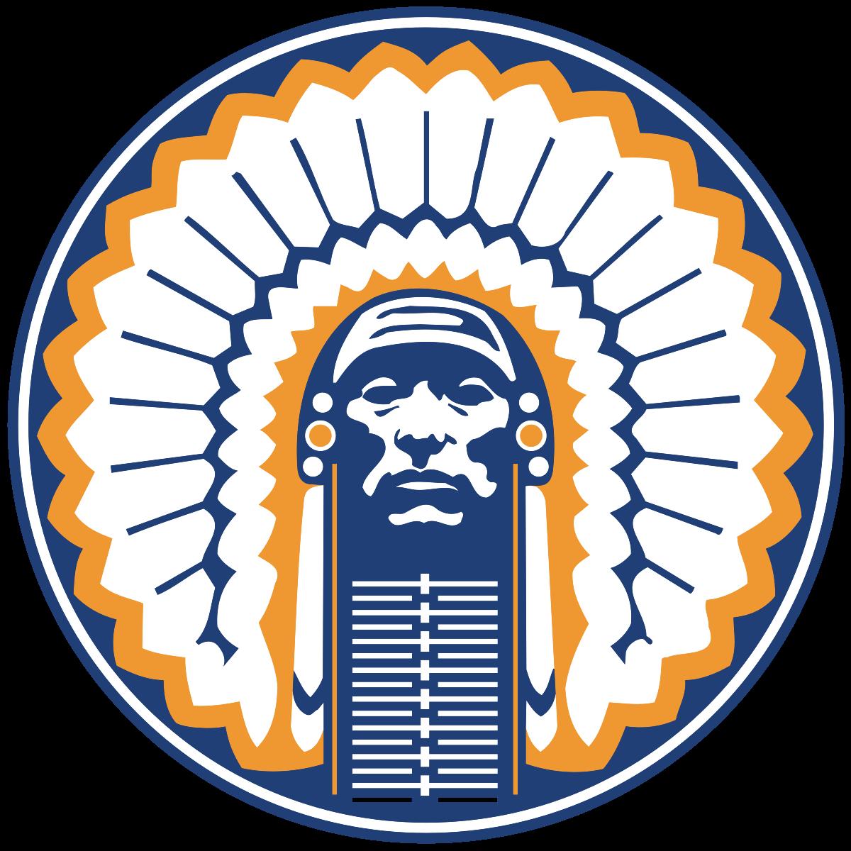 Indian football mascot clipart graphic transparent stock Chief Illiniwek - Wikipedia graphic transparent stock