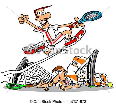 Gewinner und verlierer clipart svg free library Zeichnungen von tennis, Netz, wbg - tennis, gewinner, und ... svg free library