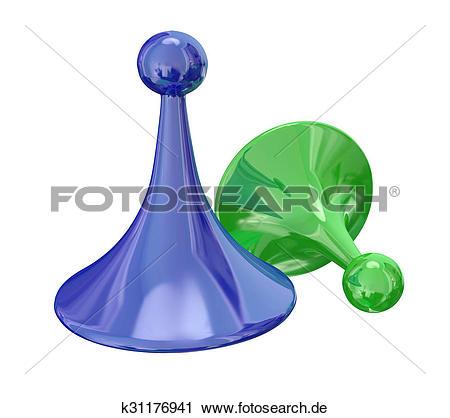Gewinner und verlierer clipart picture freeuse Clipart - grün blau, zwei, spielfiguren, gewinner, verlierer ... picture freeuse