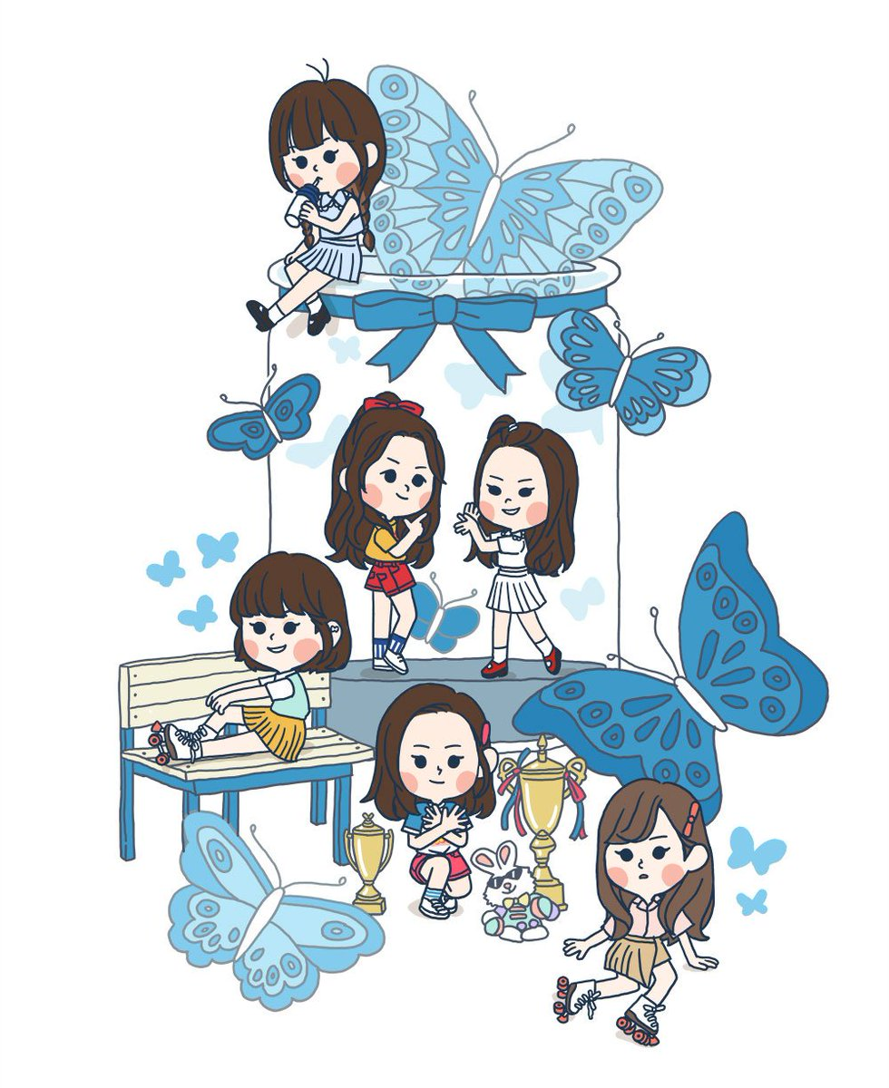 Gfriend clipart graphic free library GFRIEND INDONESIA on Twitter: \