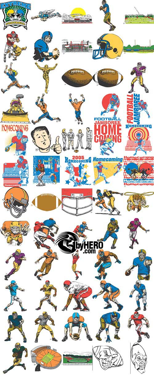 Gfx clipart pack clip art black and white library Extreme Clipart 2010 - Sports Pack ? Graphic GFX PSD Sources Stock ... clip art black and white library