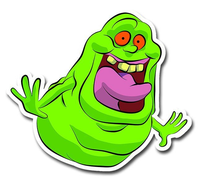 Ghost busters slimers eyes amd mouth clipart vector royalty free library Ghostbusters Slimer Sticker | rocks in 2019 | Ghostbusters birthday ... vector royalty free library