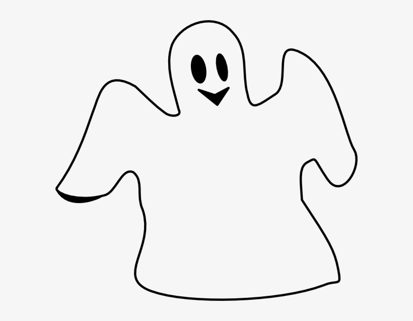 Gost clipart black and white free png Ghost Clip Art Png - Ghost Black And White Clipart - Free ... png