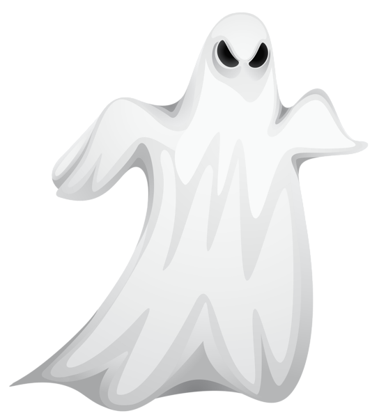Ghost clipart with crown svg black and white Halloween Creepy Ghost PNG Clipart | Imágenes Halloween | Pinterest ... svg black and white