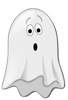 Ghost clipart with crown picture free library Happy Halloween Clipart picture free library